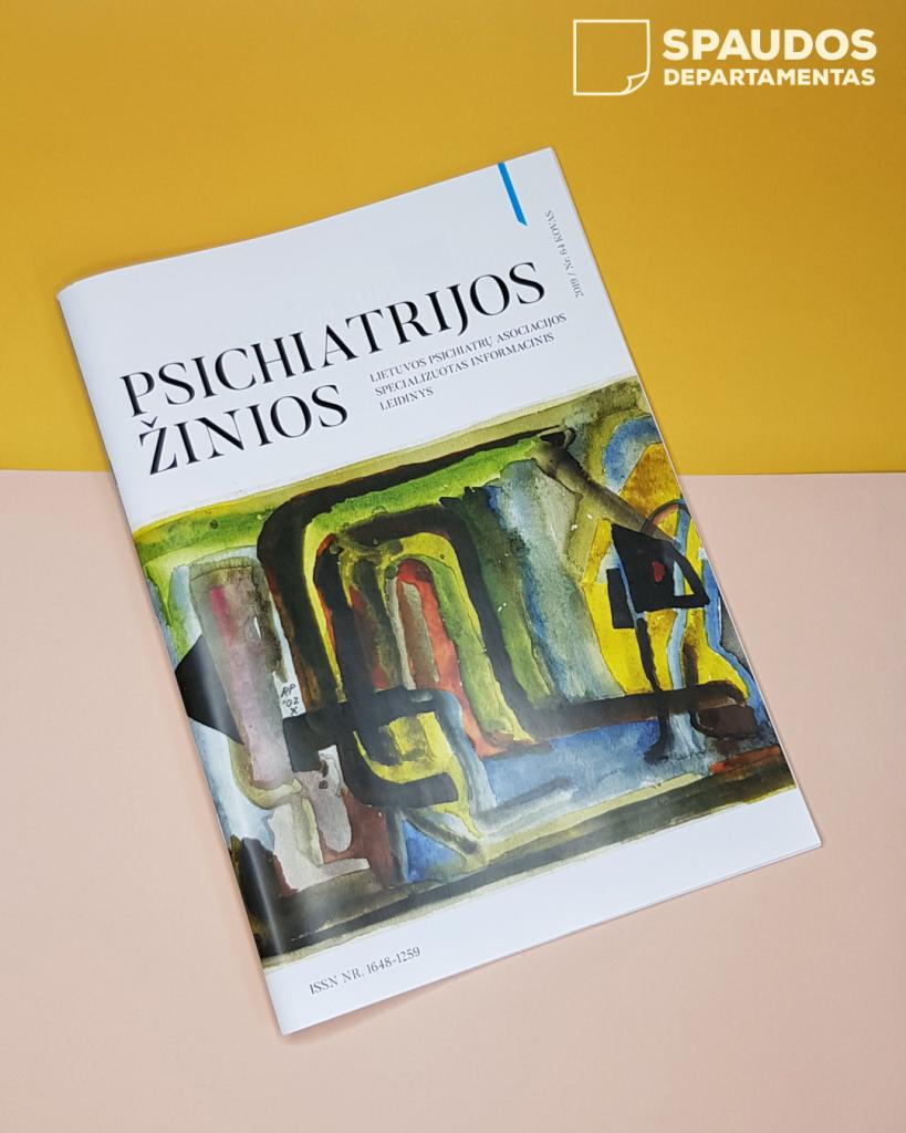 žurnalų spausdinimas