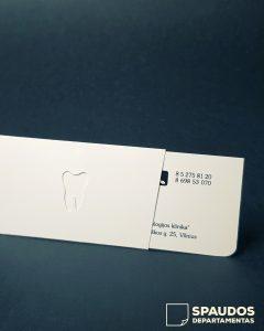Vizitinių kortelių gamyba | Spaudos Departamentas