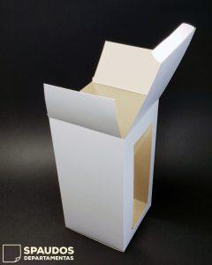 spauda ant dėžučių