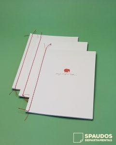 brošiūrų gamyba