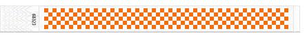25mm pločio šachmatų teksturos kontrolinės apyrankės