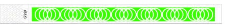 25mm spyralės teksturos kontrolinės apyrankės