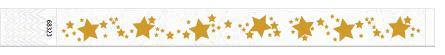 25mm žvaigdžių teksturos kontrolinės apyrankės