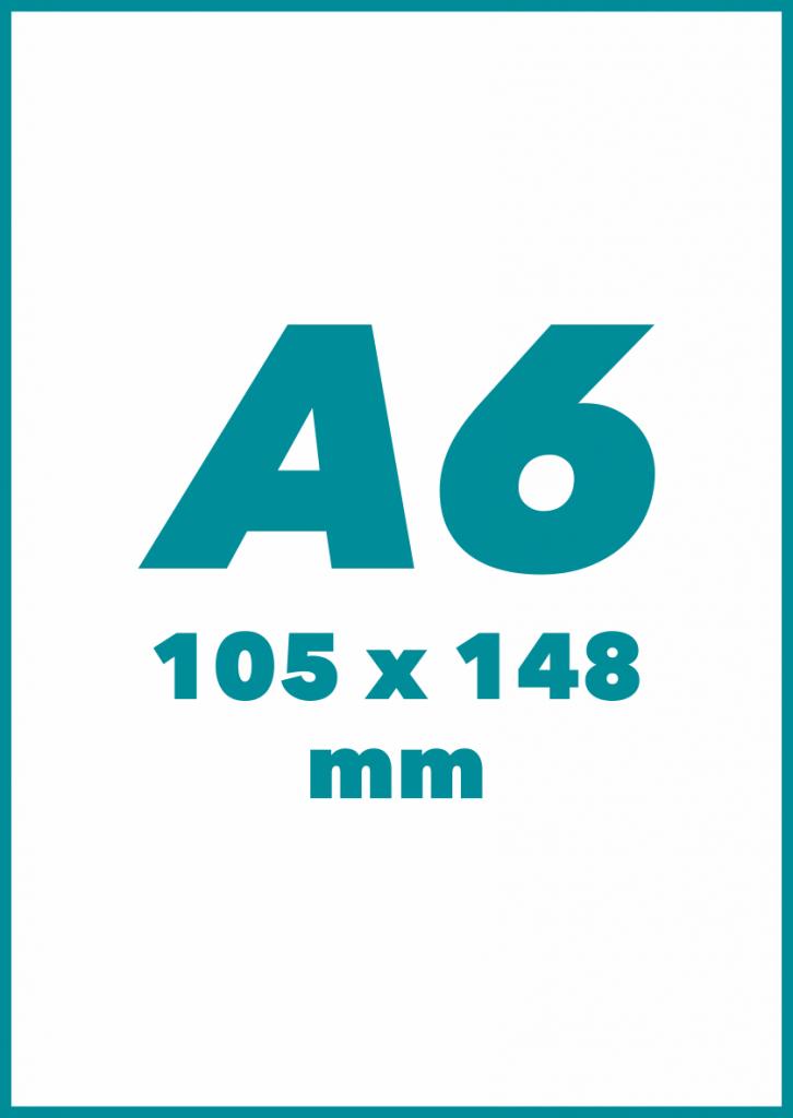 A6 Formatas