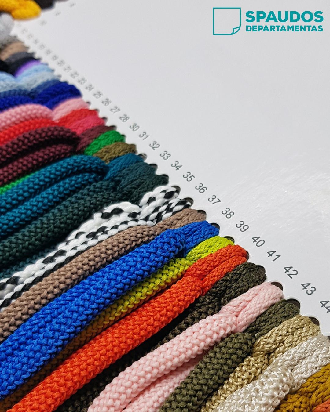 Virvelės popieriniams maišeliams SPAUDOS DEPARTAMENTAS