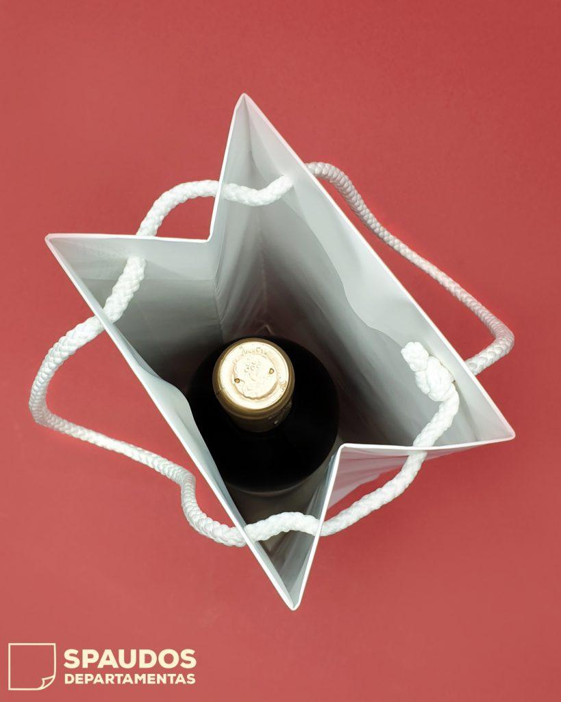 popieriniai maiseliai gerimu buteliams SPAUDOS DEPARTAMENTAS