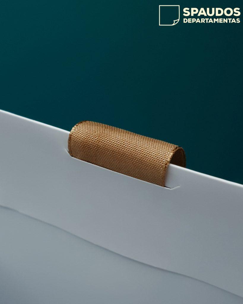 Plokščios rankenelės popieriniams maišeliams SPAUDOS DEPARTAMENTAS