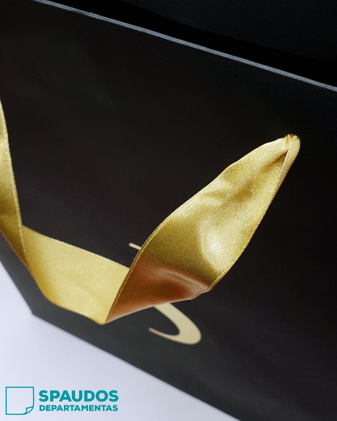 popieriniai maiseliai atlasinemis rankenelemis