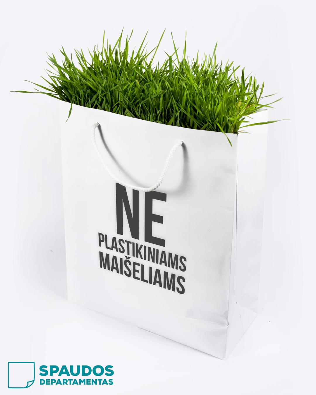 ekologiški popieriniai maišeliai