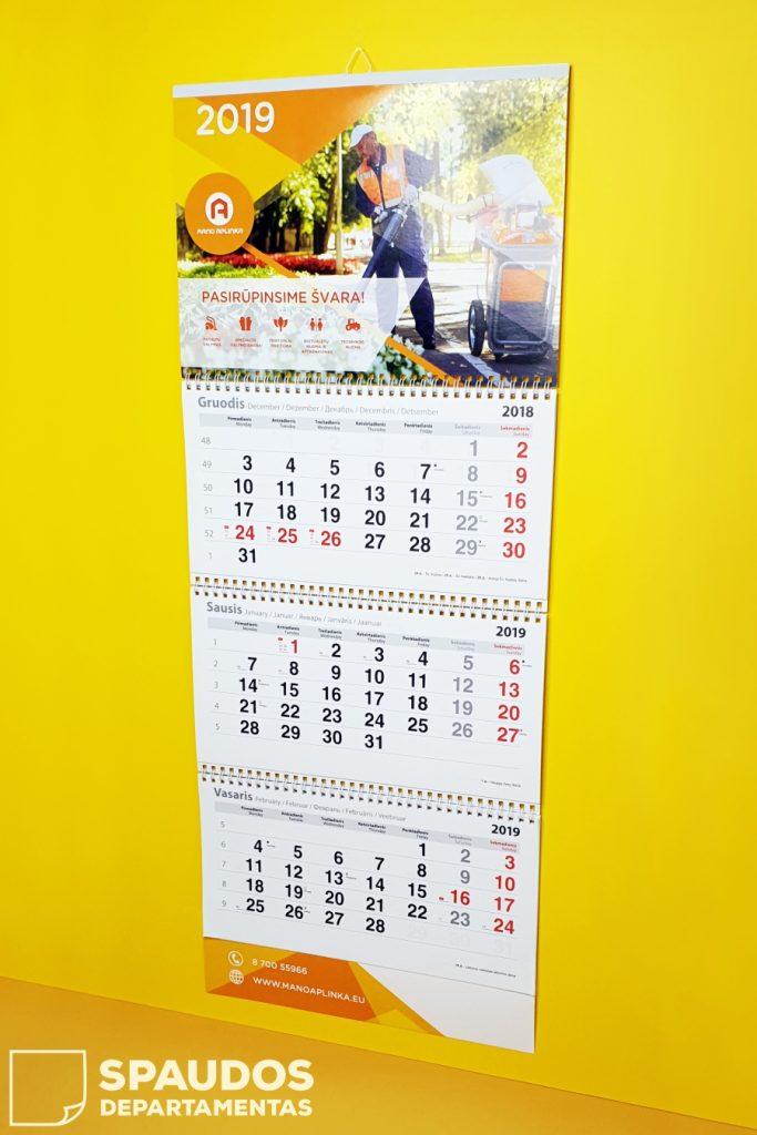 Kalendorių spauda   Spaudos Departamentas