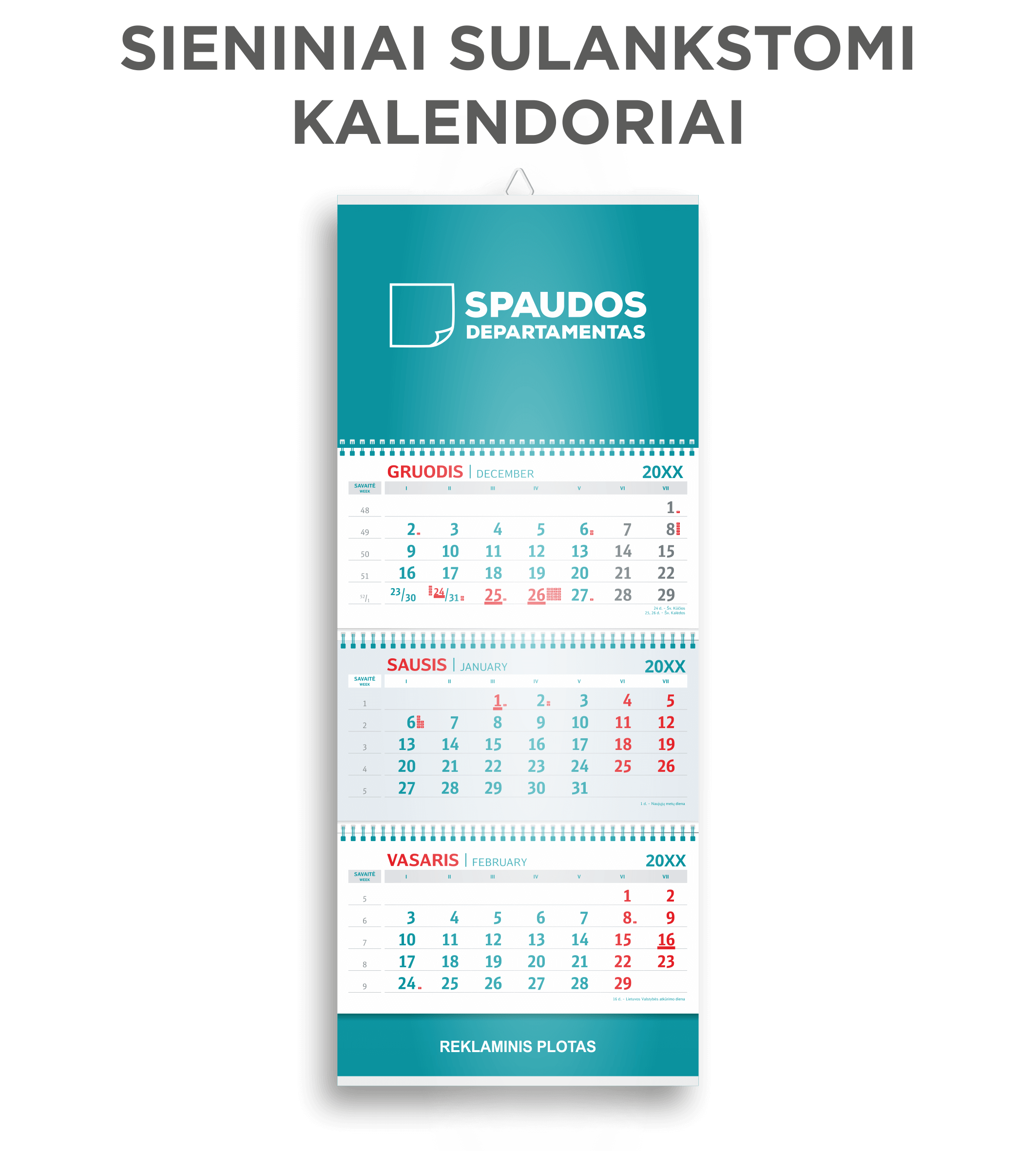 Sieniniai kalendoriai
