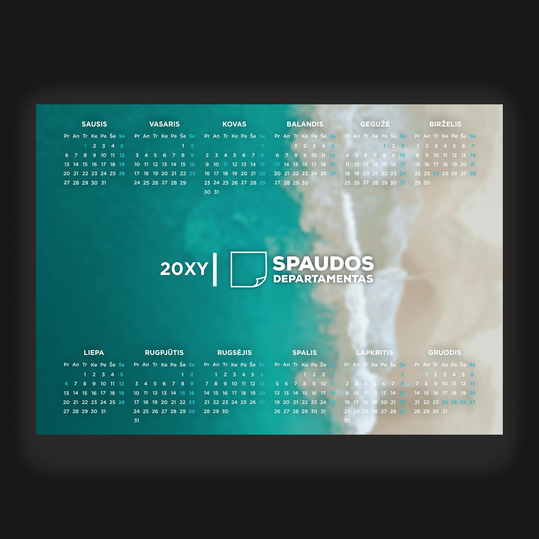 Plakatinis kalendorius