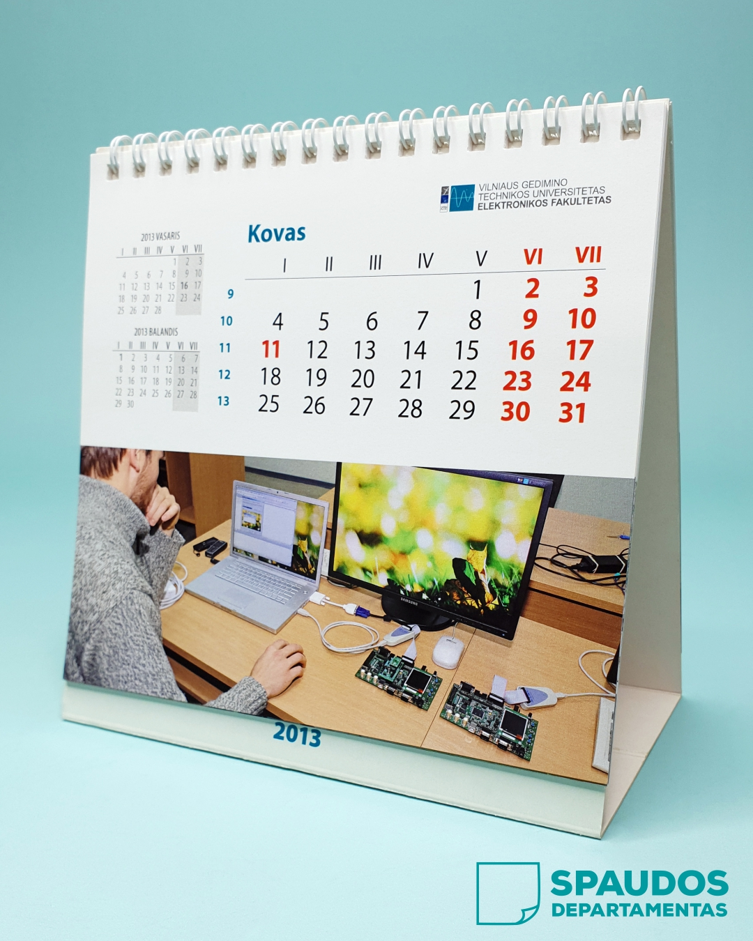 Kalendoriai su nuotraukomis