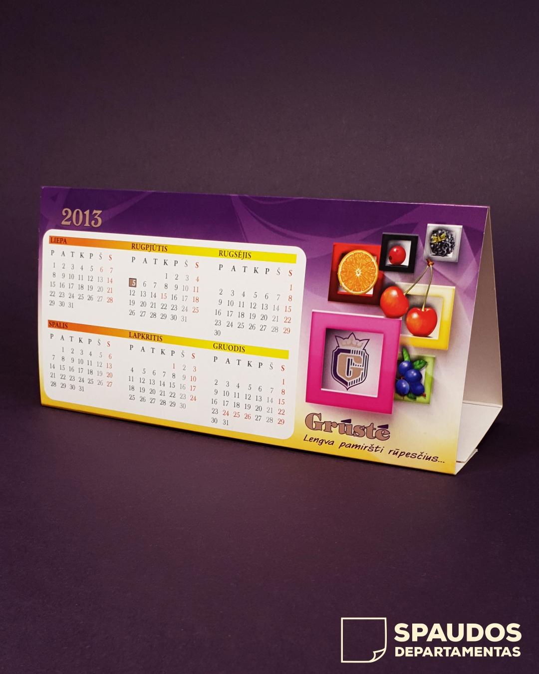 Stalo kalendoriai