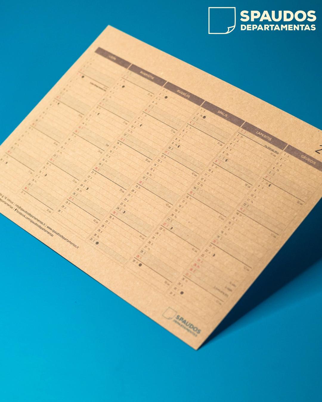 Kalendorių gamyba