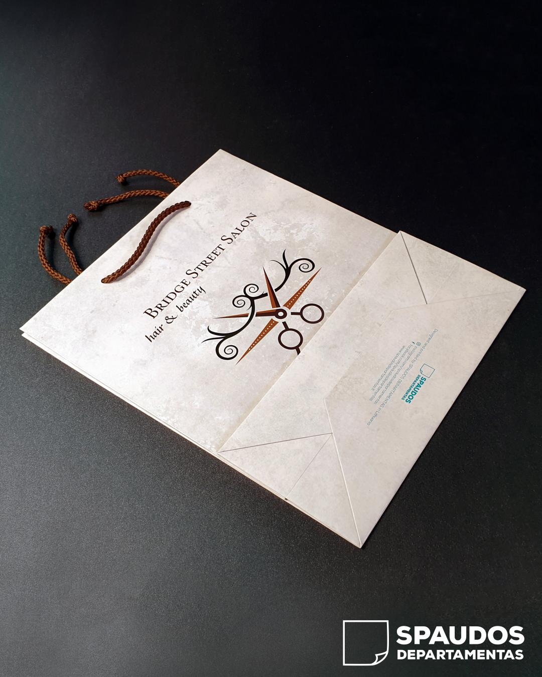 Bridge Street Salon popieriniai maišeliai