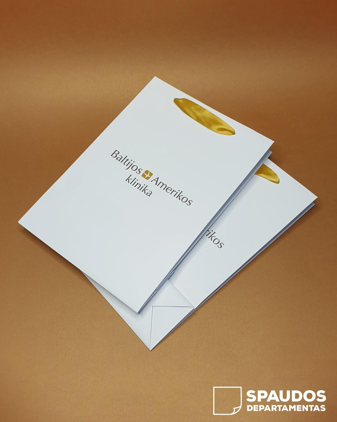 Baltijos amerikos klinika popieriniai maišeliai