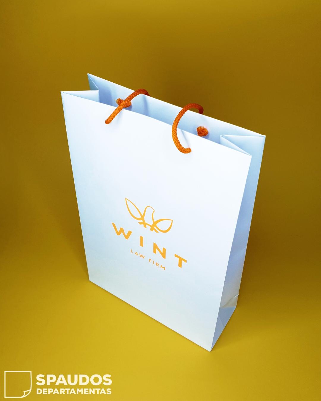 WINT popieriniai maišeliai